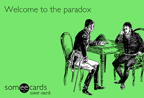 WelcomeToTheParadox