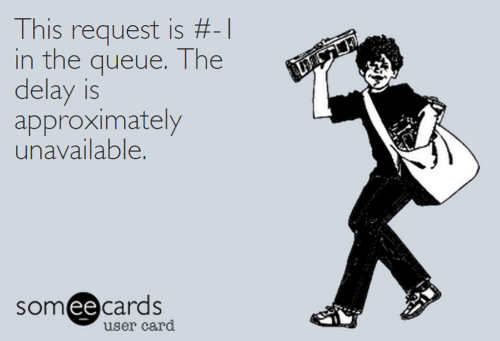 ThisRequestIs#-1InTheQueueTheDelayIsApproximatelyUnavailable.